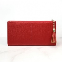 Faux Leather Purse in Red by Peace Of Mind
