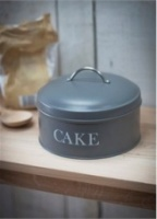 Charcoal Cake tin by Garden Trading