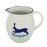Dorset Delft Hare Jug by Hinchcliffe and Barber