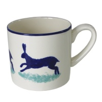 Dorset Delft Hare Mug by Hinchcliffe and Barber