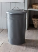 Charcoal Kitchen Bin by Garden Trading