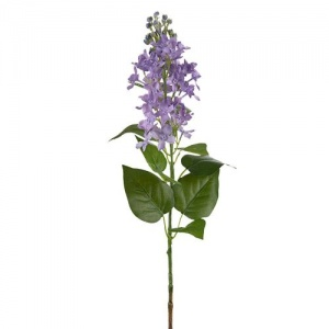 Faux Lilac Stem by Grand Illusions