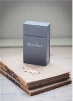 Match Box in Charcoal by by Garden Trading