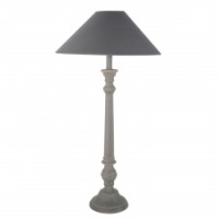 Mayling grey table lamp by Grand Illusions