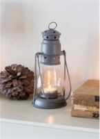 Small, Charcoal Miners Lantern by Garden Trading