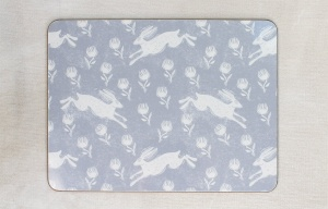 Running Hare placemat by Sam Wilson Studio