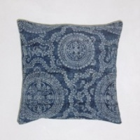 Santorini Blue Cushion by Biggie Best