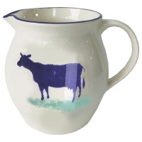 Dorset Delft Small Cow Jug by Hinchcliffe and Barber