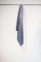 Stunning graduated selvedge throw by Tutti & Co