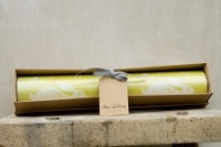 Headlong Hare, Ochre Yellow, Fragranced Drawer Liners by Sam WIlson Studio