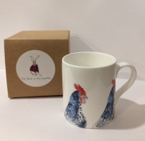 Hare in the Sweater ''Charlie Chicken'' Ceramic Mug