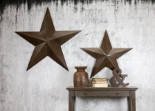 Oversized Industrial Metal Star by Nkuku