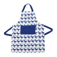 Blue Gull Apron by Hinchcliffe and Barber