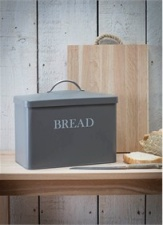 Charcoal Bread Bin by Garden Trading