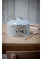 Chalk Cake tin by Garden Trading
