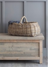 Bembridge Forage basket by Garden Trading