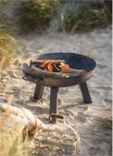 Small Foscot Fire Pit  by Garden Trading