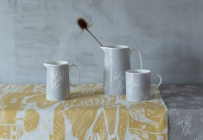 Small, grey Parsely Seed jug  by Sam Wilson Studio