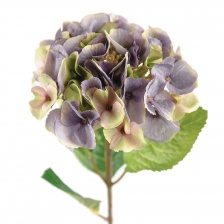 Faux Hydrangea Mauve by Grand Illusions