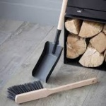Jutland Dustpan and Brush by Garden Trading