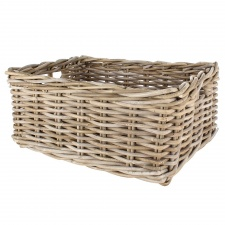 Kubu rattan basket by Grand Illusions