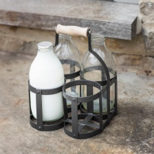 Milk Bottle Holder  by Garden Trading