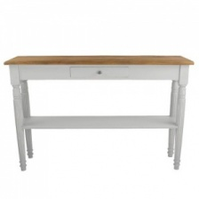 Console Table Picardie in Sel De Mer by Grand Illusions