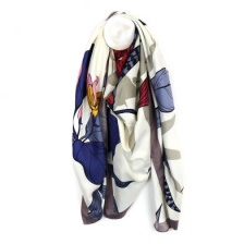 Ivory MIx Japanese Inspired Scarf by Peace of Mind