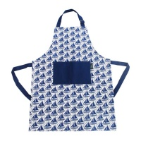 Blue Sailing Apron by Hinchcliffe and Barber