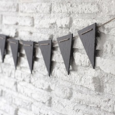 Slate bunting by Garden Trading