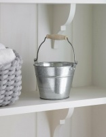 1.25L Galvanised Bucket by Garden Trading