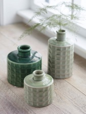 Sorrento Bottle Small Pale Green by Garden Trading