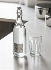 Perfectly Drinkable Tap Water bottle by Garden Trading