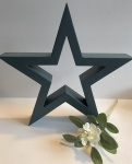 Hilly Horton Home Painted Signature Star - Small - Teal
