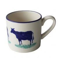 Dorset Delft Cow Mug by Hinchcliffe and Barber