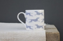 Fast Dog mug by Sam Wilson Studio
