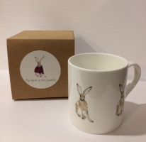 Hare in the Sweater ''Harry'' Ceramic mug