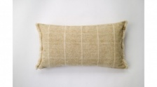 Brushed WildStripe Breakfast Cushion Mustard by Raine & Humble
