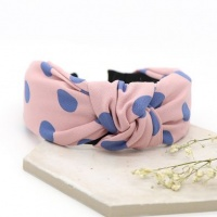 Pink and Blue Spot Print Headband by Peace Of Mind