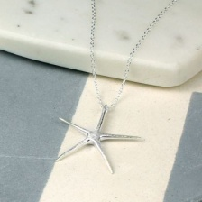 Sterling Silver Star Fish necklace by Peace of Mind
