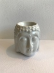 White Buddha Head Burner,  by Freckleface Home Fragrance