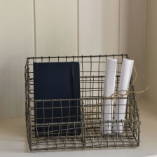Wire Desk Organiser by Grand Illusions