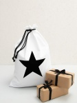 Christmas Sack White ''Star'' by ChalkUK