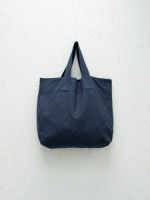 Natural Fibre Shopper Navy by ChalkUK