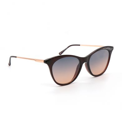 Black Sunglasses with Rose Gold Trim by Peace of Mind