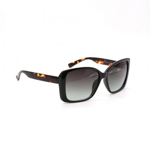 Dark Brown Square Tortoiseshell Sunglasses by Peace of Mind