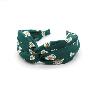 Green Daisy Headband by Peace of Mind