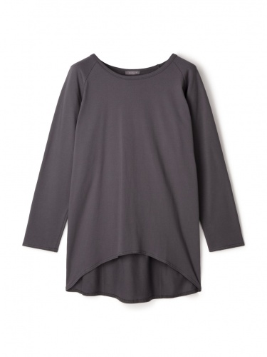 Robyn Top in Charcoal with White Star Logo by Chalk UK
