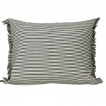 Abby Stripe Cushion Olive by Raine & Humble