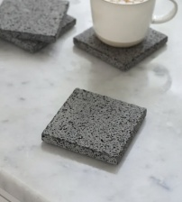 Set of 4 Tambora Coasters by Garden Trading